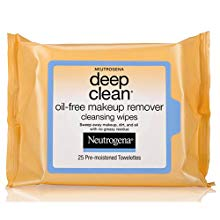 Oil-Free makeup remover, deep clean