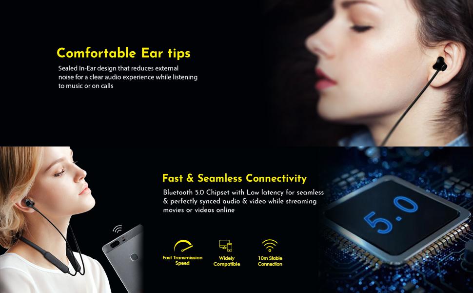pTron Tangent Lite Bluetooth Headphones