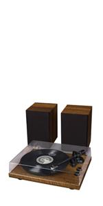 Amazon.com: Crosley K100 Belt-Drive Turntable Stereo System ...