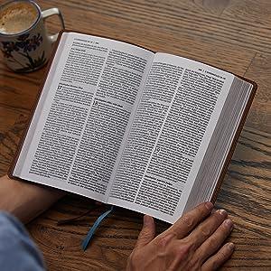 NET Thinline New English Translation leather holy bible