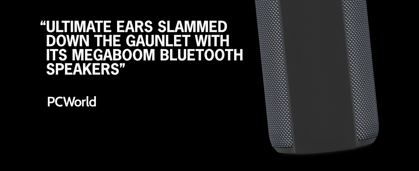Ultimate Ears Megaboom Plum Wireless Mobile Bluetooth