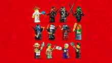 12 minifigures plus weapons and accessories
