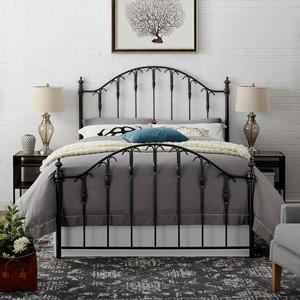 Pleasant Amazon Com Crosley Furniture Eldridge Metal Headboard And Machost Co Dining Chair Design Ideas Machostcouk