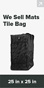 trade show flooring bag