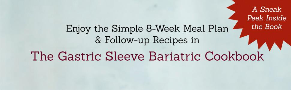 The Gastric Sleeve Bariatric Cookbook Easy Meal Plans And Recipes