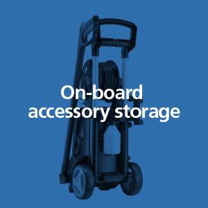accessory storage, high pressure washer, cleaning, outdoor, machine, nilfisk