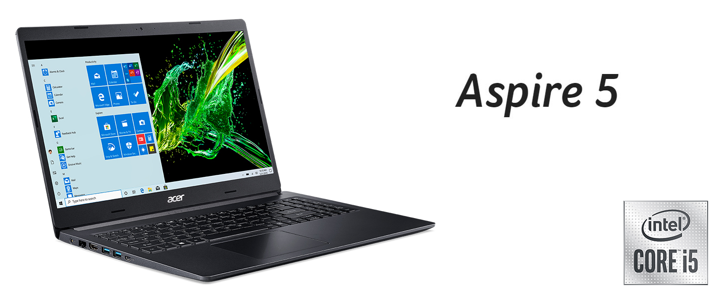 Acer Aspire 5 A515-55T Amazon Choice Intel; Core i5-1035G1 15.6 HD Touch SSD