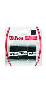 Wilson Pro Overgrip Empuñadura, 12 unidades, unisex, blanco ...