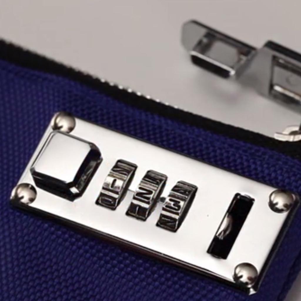 Amazon Com Vaultz Locking Binder Pouch 8 X 10 Inches