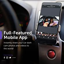 Dash Cam, VAVA 1920X1080P@60Fps Wi-Fi Car Dash Camera with Sony Night  Vision Sensor, Dashboard Camera Recorder with GPS, Parking Mode, G-Sensor,