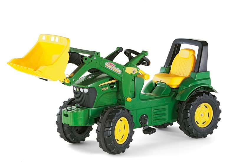 Rolly toys 710027 traktor farmtrac premium john deere 7930: amazon