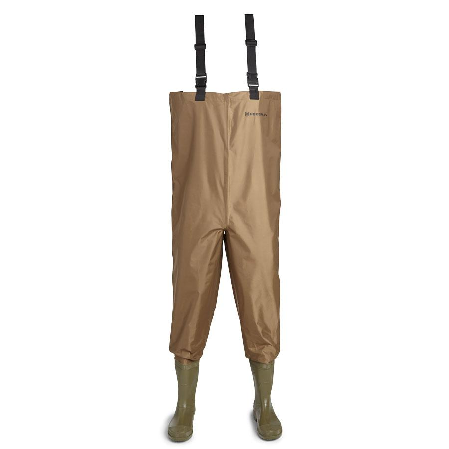 Hodgman mackenzie nylon and pvc cleated for Fishing waders amazon