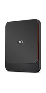 LaCie Mobile Drive 4TB, Disco duro externo portátil, Moon Silver ...