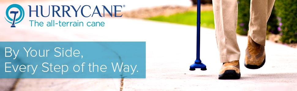 HurryCane: By Your Side, Every Step of the Way.