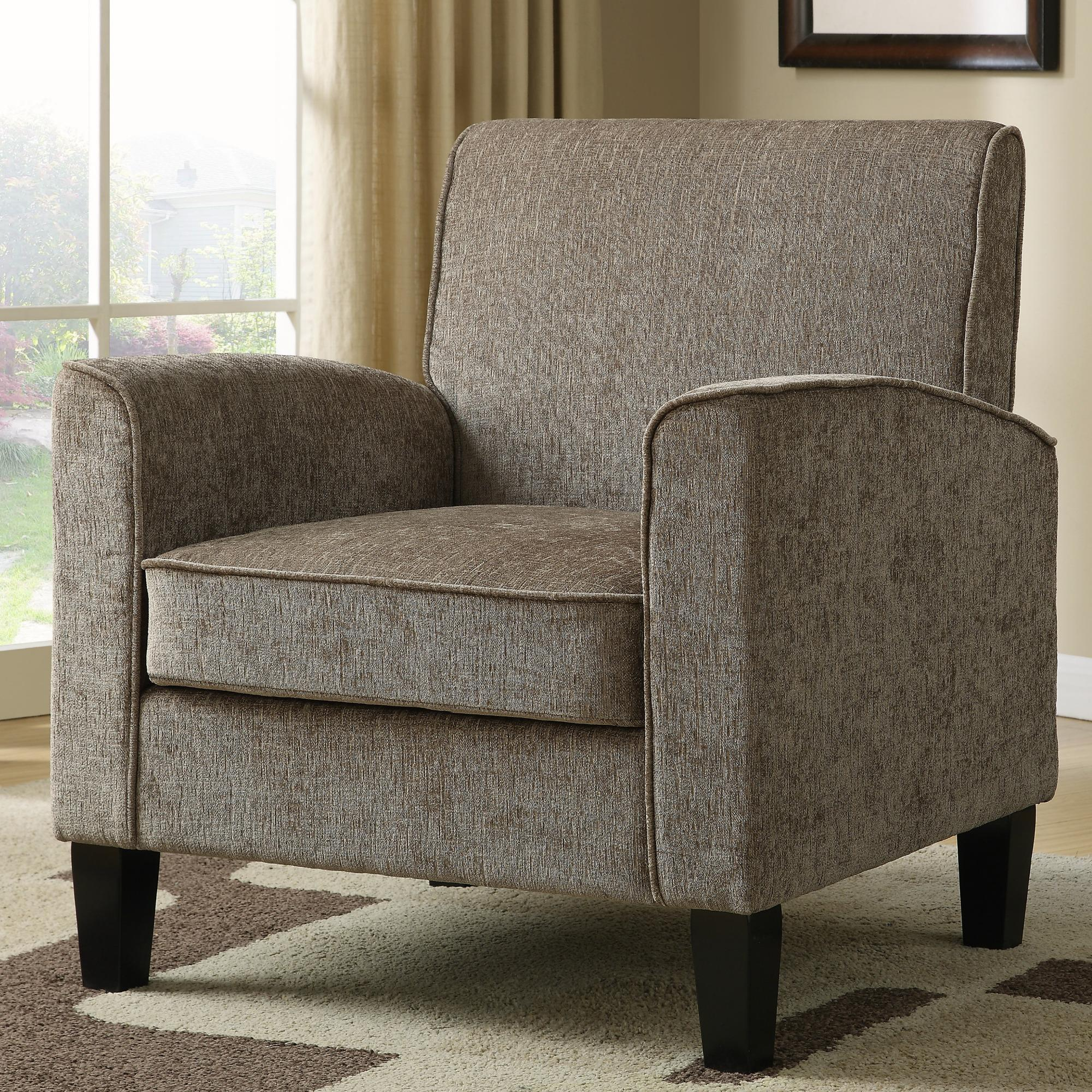 Pulaski Ds 2279 900 5 Paisley Mid Century Modern Upholstered Accent Living Room Chair Taupe