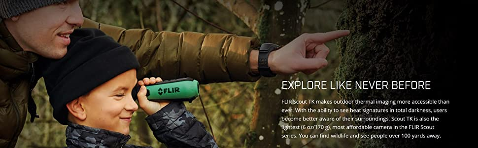 Scout TK; Outdoors; Hunting; Thermal Imaging