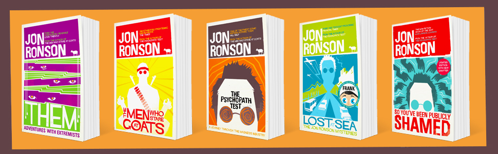 jon ronson, the psychopath, non fiction, picador, so you've been publicly shamed
