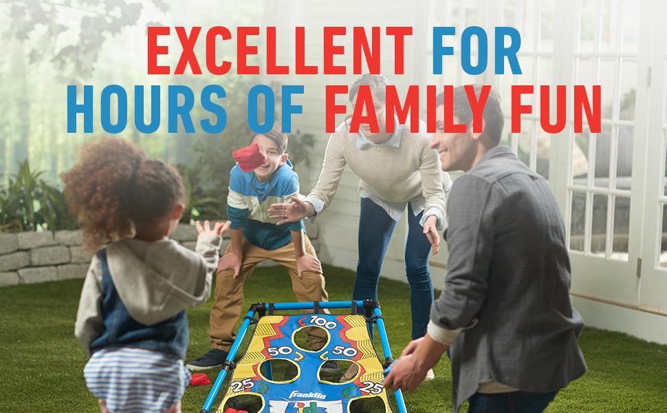 cornhole, kids cornhole, family fun, backyard games, bean bag toss, children, youth sports