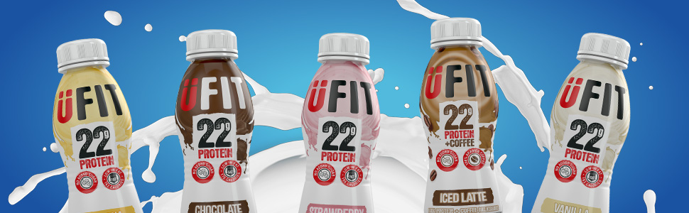 ufit, drinks, protein, healthy, full, slim, lose, weight