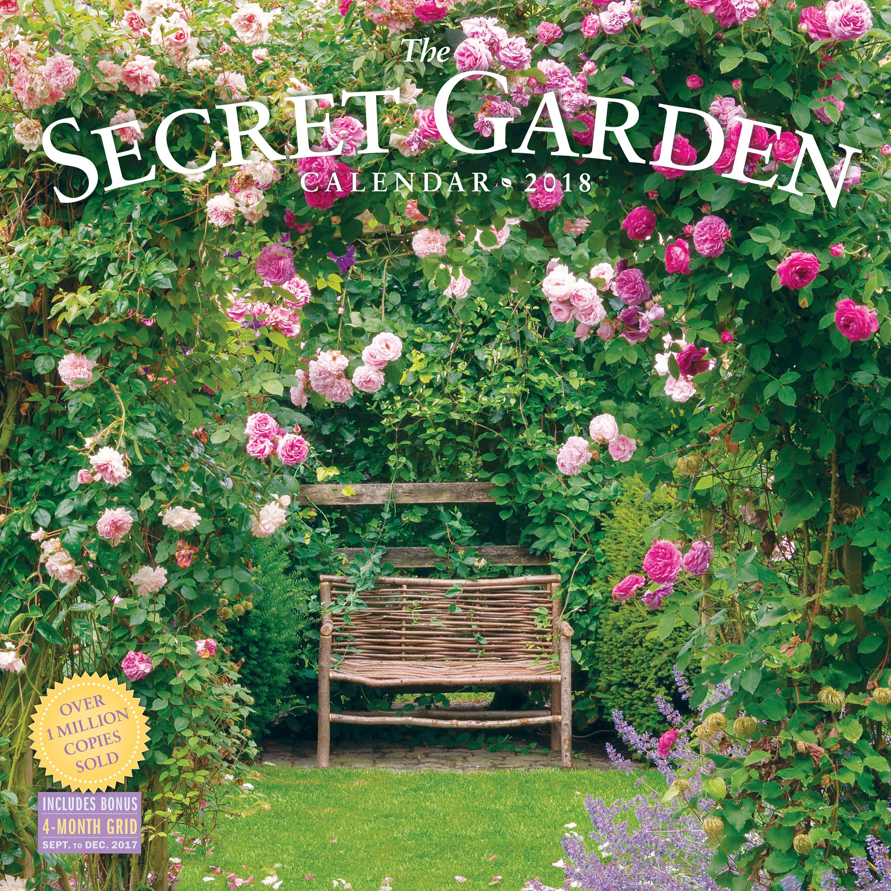 Secret Garden: Amazon.com: The Secret Garden Wall Calendar 2018