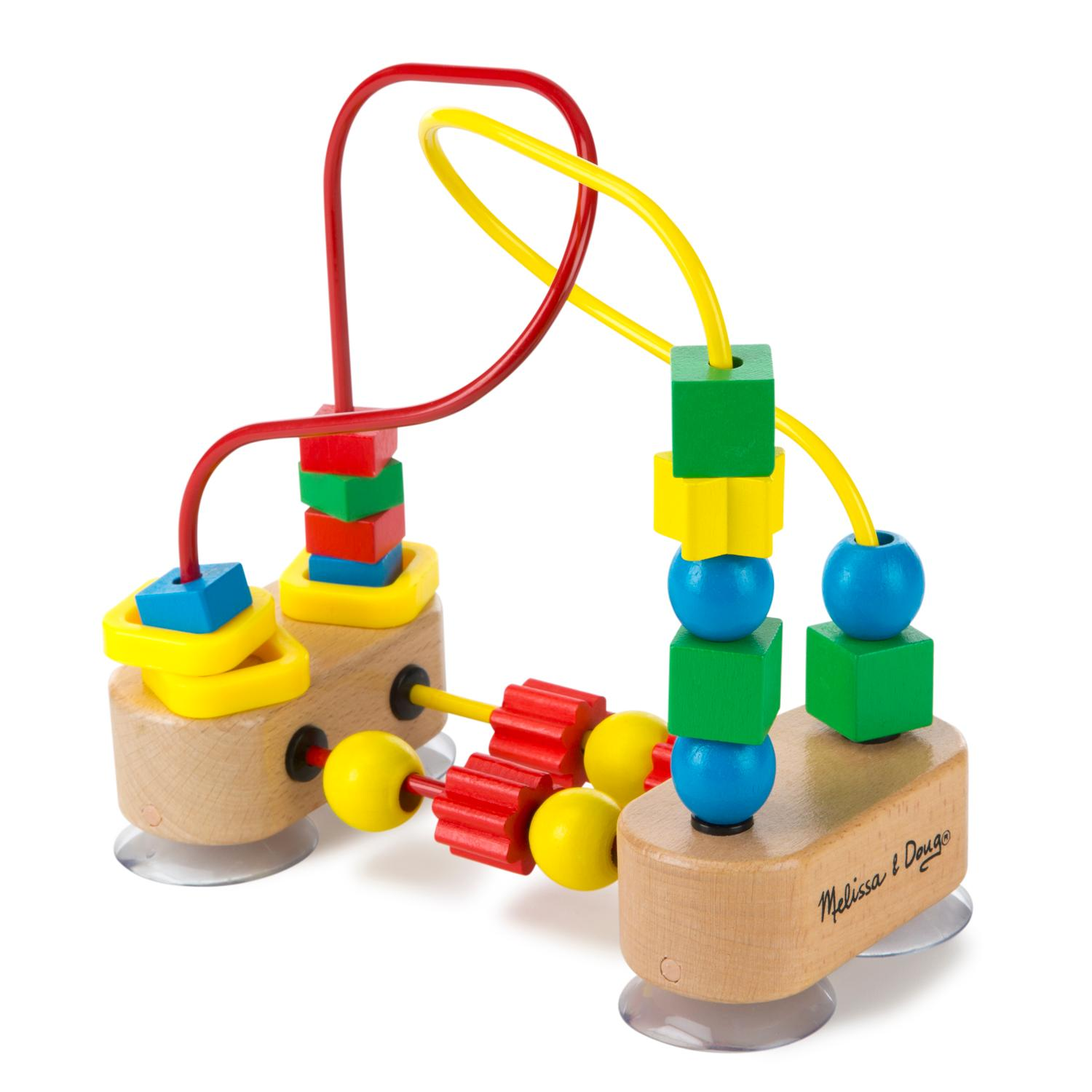 Melissa & Doug First Bead Maze Wooden Educational Toy Melissa