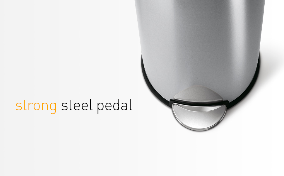 strong steel pedal