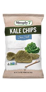 peanut free, treenut free, gluten free, kale snacks