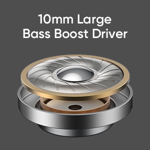 10mm Large Bass Boost Driver