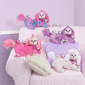 puppy surprise, stuffed animals, stuffed dogs