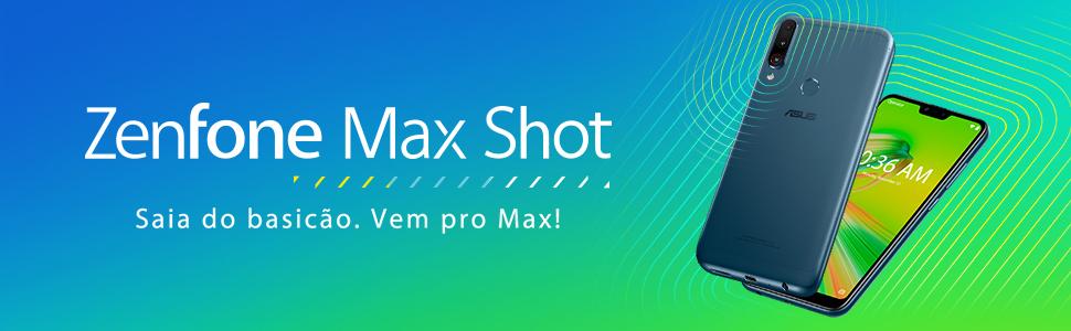 Smartphone, ASUS, Zenfone Max Shot, ZB634KL-4D008BR, 64GB