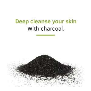 Deep cleansing, charcoal, Face wash, face cleaning, pimples, acne, oily skin