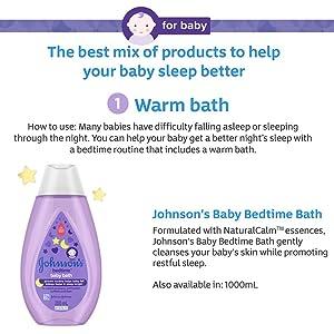 johnson's baby, Johnson's Baby Bedtime, baby lotion, shampoo, lotion, baby bath