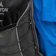 TETON Sports TrailRunner 2.0 Hydration Backpack with safety features including reflective trim