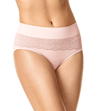 warner's cloud 9, hipster panty, ru3231P, soft hipster panty, hipsters for women
