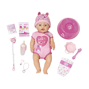 Zapf Creation 827789 BABY born Soft Touch Little Girl Puppe