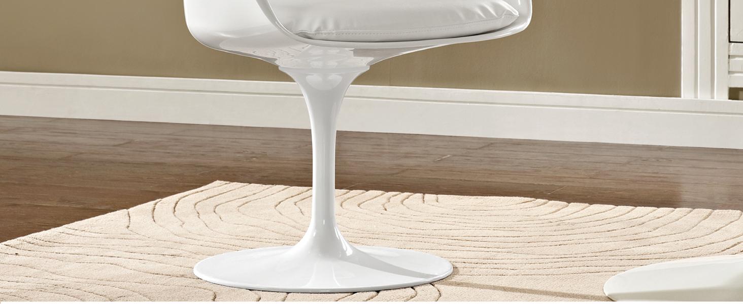Amazon.com: LexMod Eero Saarinen estilo tulipán sillón con ...
