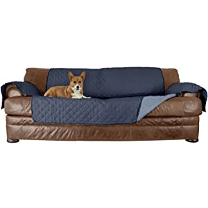 Remarkable Furhaven Pet Furniture Cover Two Tone Reversible Water Resistant Quilted Living Room Furniture Cover Protector Pet Bed For Dogs Cats Available Creativecarmelina Interior Chair Design Creativecarmelinacom