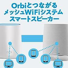 WiFi ルーター RBK40V Alexa スマートスピーカー Harman Kardon うたパス dヒッツ music spotify トライバンド メッシュWiFi NETGEAR
