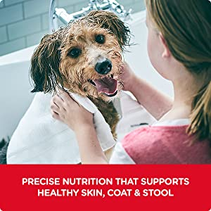 •	SUPPORT SKIN & STOOL POD: Precise nutrition that supports healthy skin, coat & stool