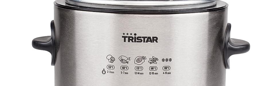 Fondue/freidora Tristar FO-1102 – Volumen 1 litro – Termostato ajustable