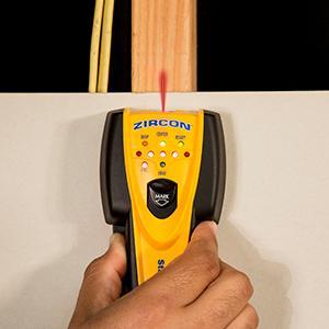 wirewarning detection, wire warning, edgefinding, centerfinding, escanador, madera, vigas, localizar