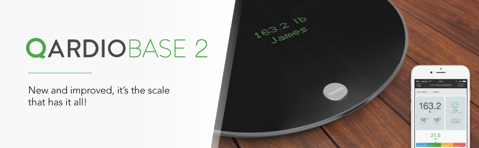 Amazon.com: QardioBase 2 Wireless Smart Scale and Body ...