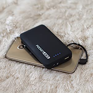 Tzumi PocketJuice Portable Charger External Battery Qualcomm USB Wall Plug Built-In Micro-USB Cable