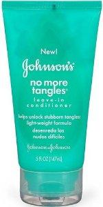 Johnson's No More Tangle leave-in conditioner