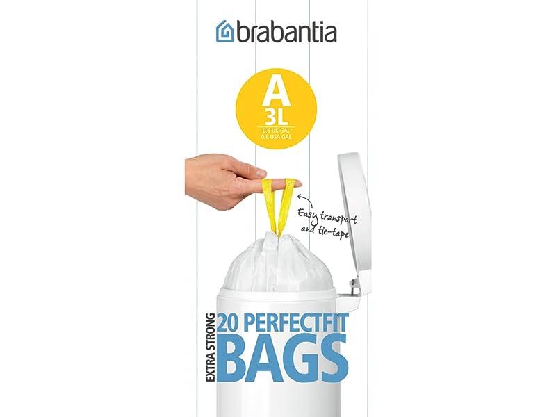 Brabantia, perfectfit, bin liner, kitchen bin