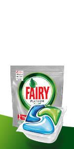 Fairy Platinum - Cápsulas de lavavajillas, pack 70: Amazon.es ...