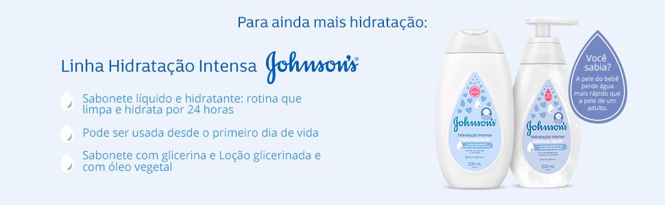 Linha Hidratação Intensa Johnson's