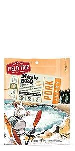 field trip maple bbq pork jerky gluten free all natural