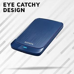 """ADATA HV320 2TB Slim Compact Portable  External Hard Drive (Blue) SPN-FOR1"