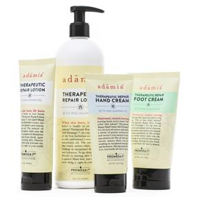 Hurting skin restored adamia products, Adamia, Adamia therpeutic lotion